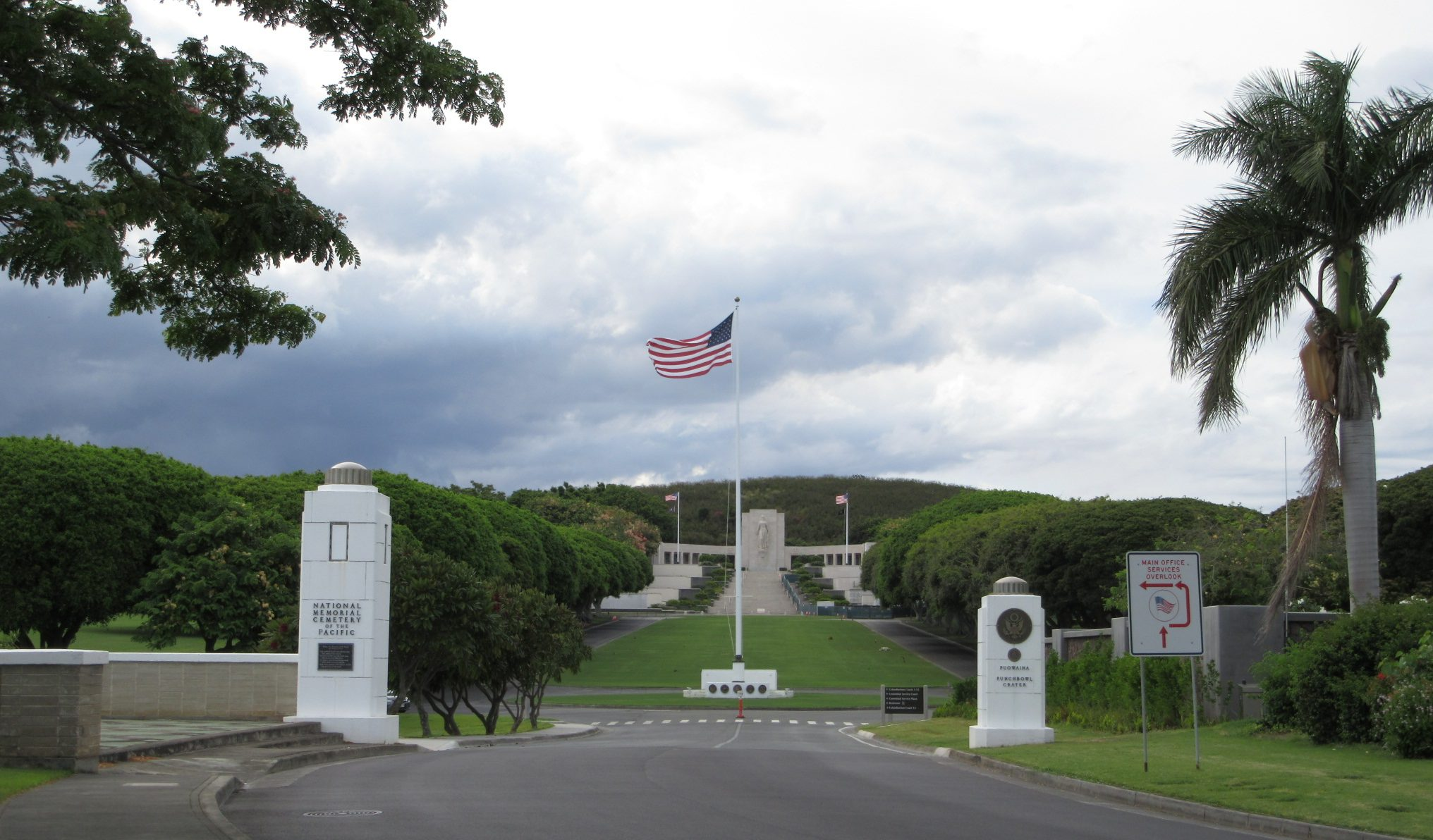 国立太平洋記念墓地  National Memorial Cemetery of The Pacific